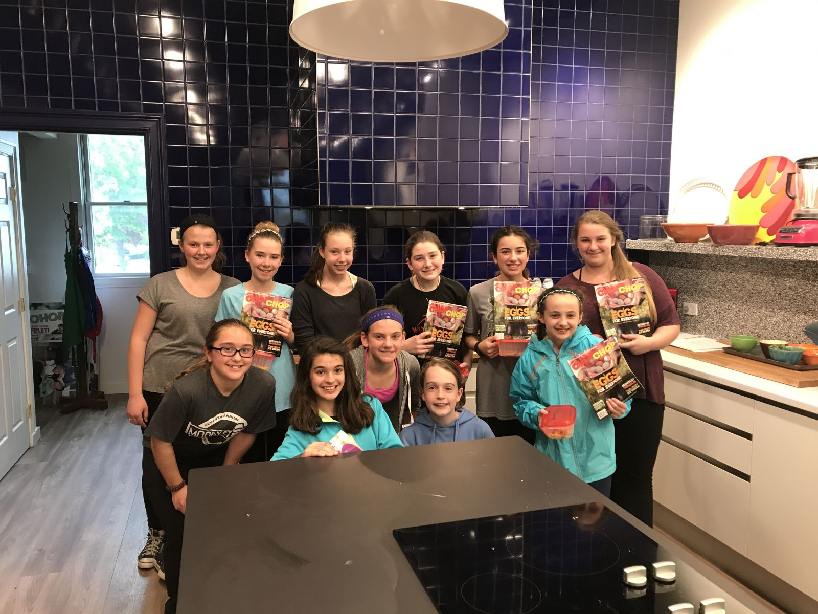 Girl Scouts Troop 88190 Cooking Classes | ChopChop